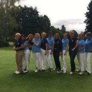 Aufstieg Damenmannschaft Golfpark Gut Hühnerhof AK 30