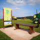Bunkerbau Spielbahn 17 Golfpark Gut Hühnerhof