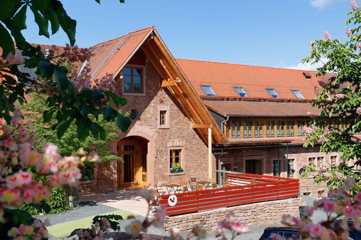 Hotelrezeption & Café Gut Hühnerhof
