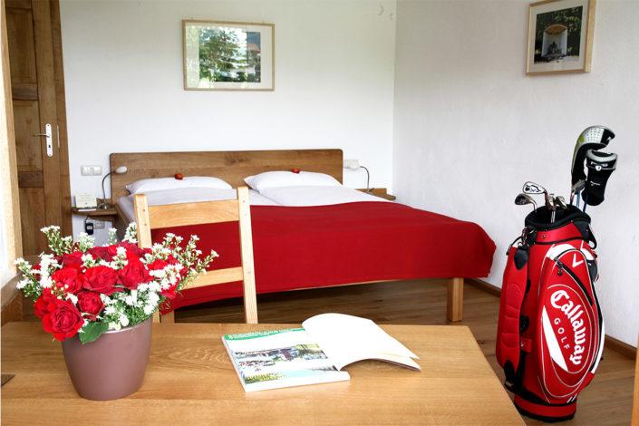 Doppelzimmer Heuboden Hotel Gut Hühnerhof