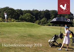 Herbstferiencamp 2018