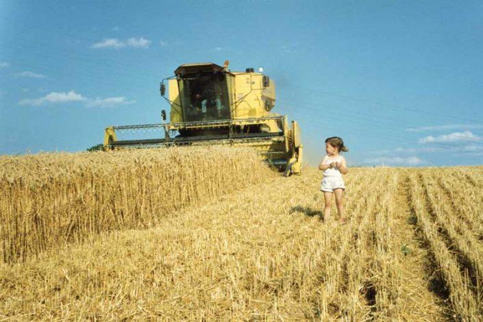 Bewirtschaftung der landwirtschaftlichen Felder Gut Hühnerhof
