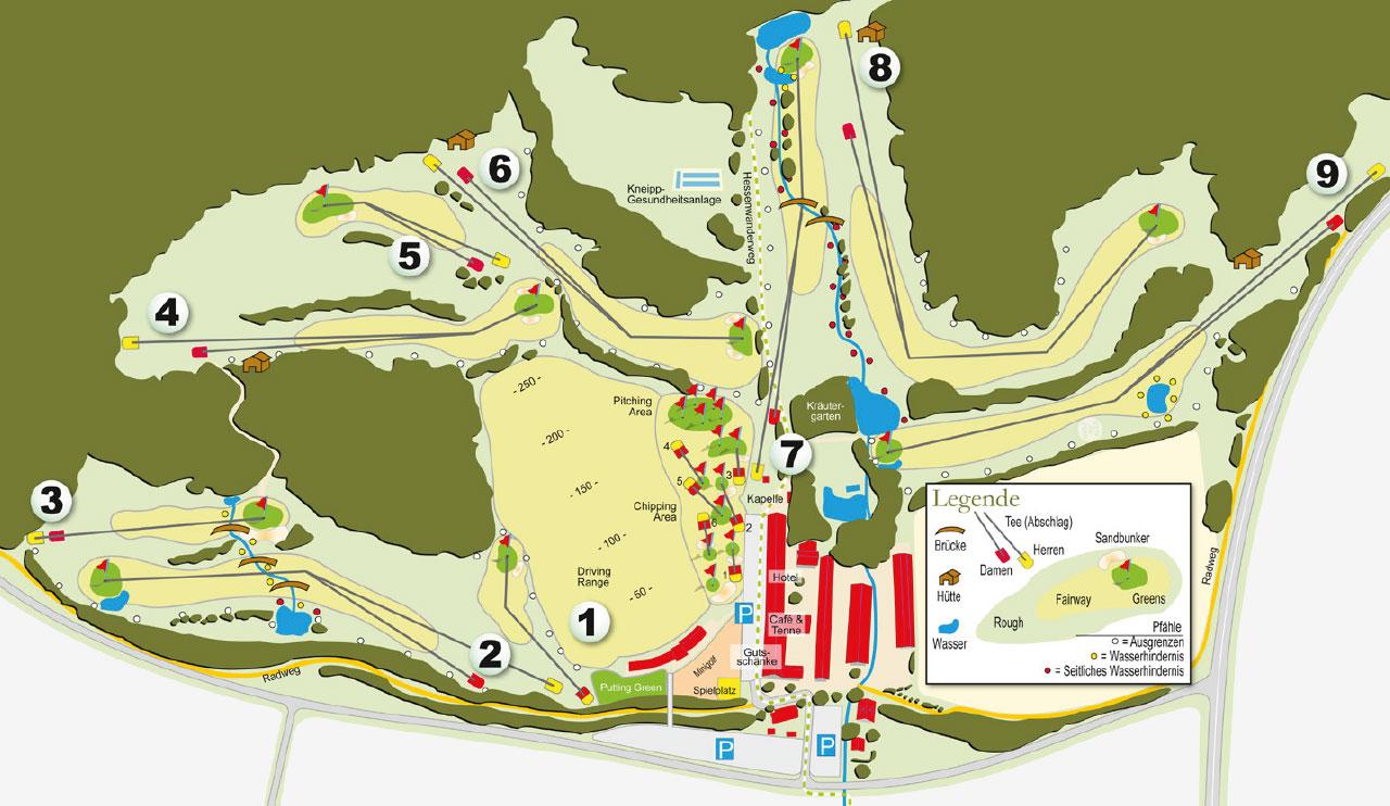 9-Loch-Platz Gut Hühnerhof