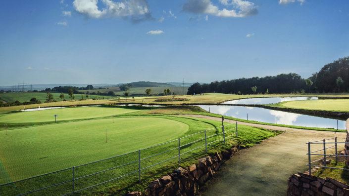18-Loch-Platz Golfpark Gut Hühnerhof