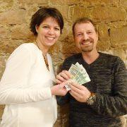Hühnerhof goes green - Spende geht an den Förderverein die buntspechte