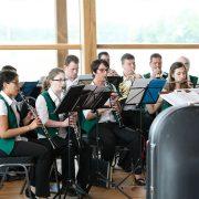 Musikverein Königshofen spielt ein Benefizkonzert im Gut Hühnerhof